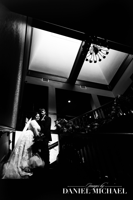Pebble Creek Staircase Wedding Photographer