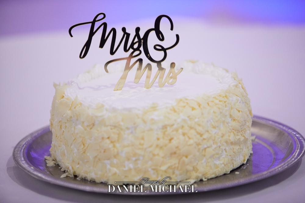 Wedding Cake Mrs & Mrs