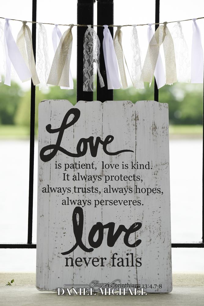 Wedding Sign Love