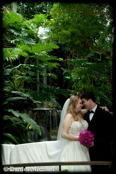 Krohn Conservatory Butterfly Exhibit Wedding
