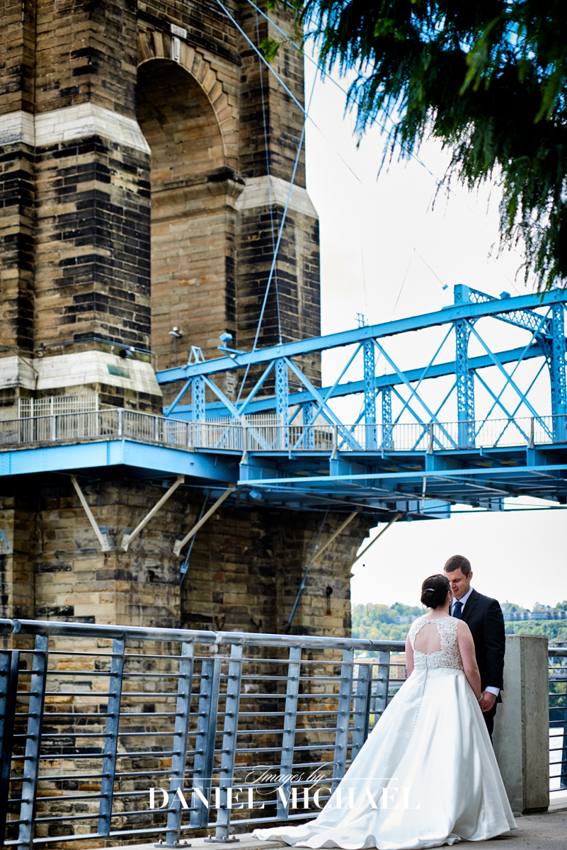Roebling Bridge Wedding Photography