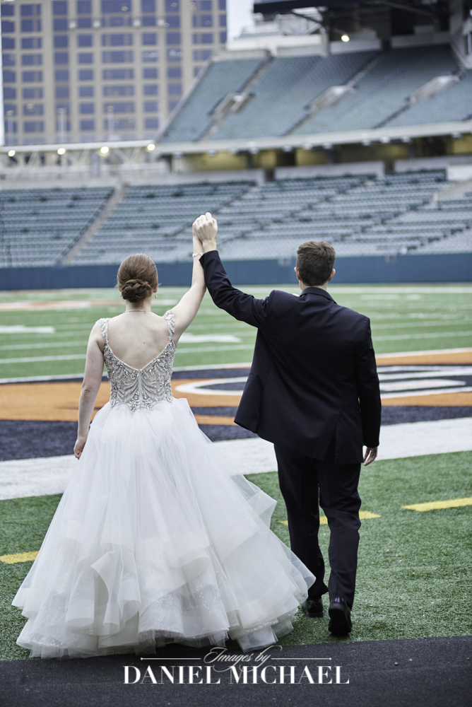 Wedding Photographer Paul Brown Stadium