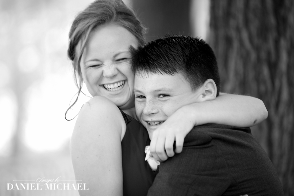 Wedding day Siblings Photography