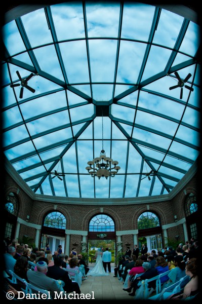 Manor House Atrium Ceremony Photos