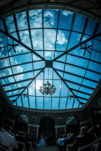 Manor House Atrium Wedding Ceremony