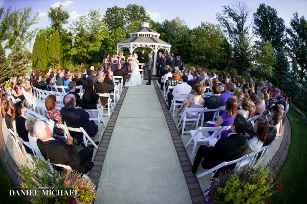 Manor House Gazebo Wedding Ceremony