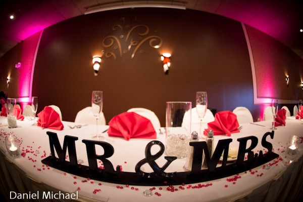 Mr. & Mrs. Wedding Photo