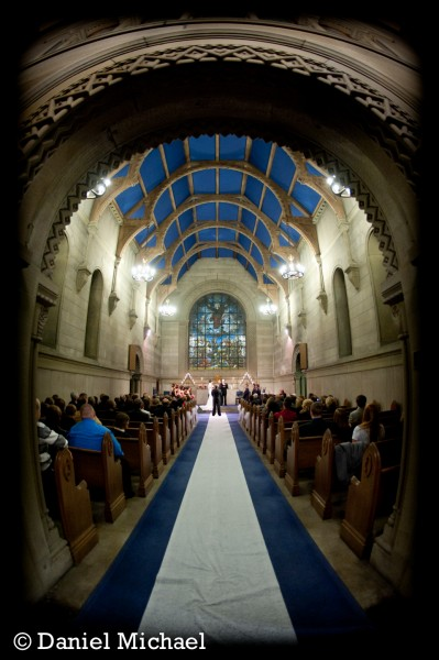 Norman Chapel Wedding Ceremony