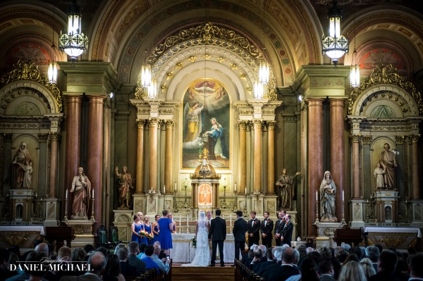 Old St Mary\'s Wedding Ceremony
