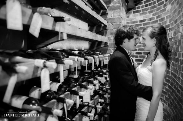 Pinecroft Wine Cellar Wedding Photography