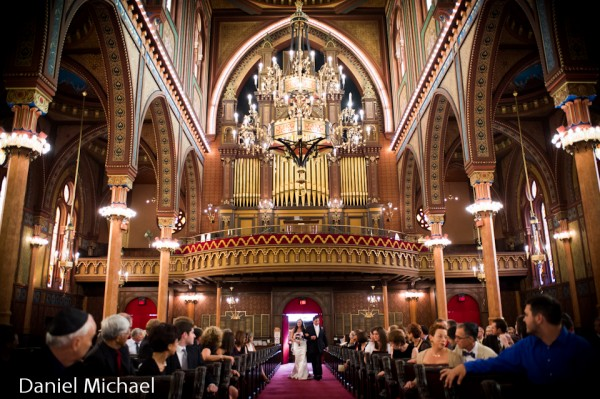 Plum Street Temple Wedding Ceremony