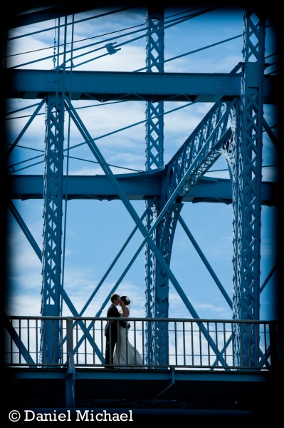 Roebling Suspension Bridge Wedding Pictures
