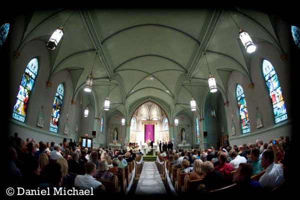 St. Aloysius Indoor Wedding Ceremony