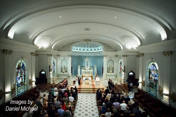 St Ursula Wedding Ceremony Photography