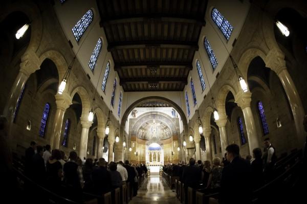 St Williams Catholic Wedding Ceremony