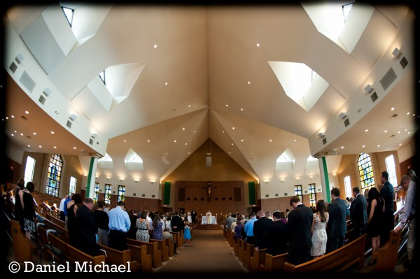 St. Max West Chester Wedding Ceremony