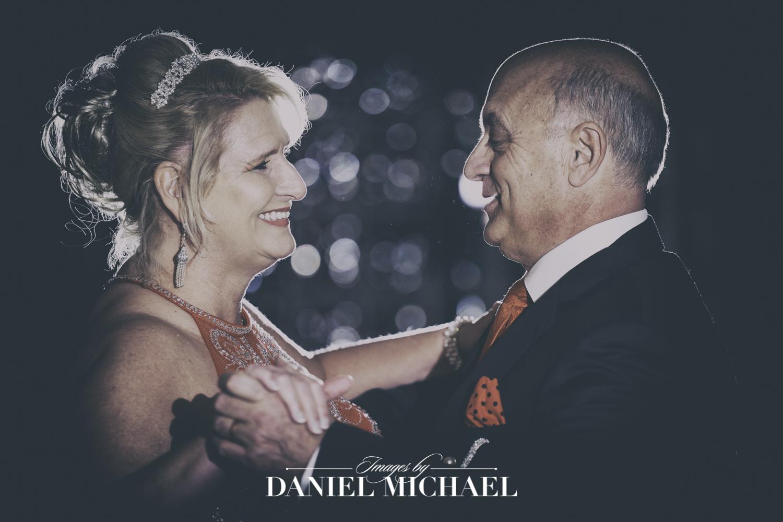 First Dance Photo at Wedding Reception