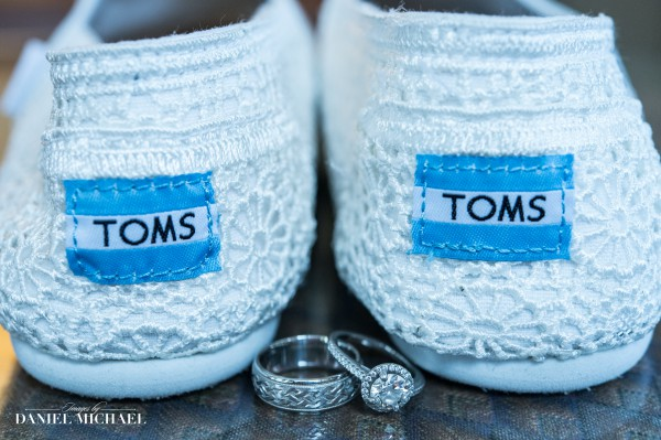 Toms Wedding Shoes with Rings