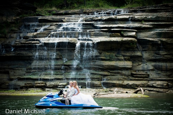 Trash Your Dress on a Jet Ski