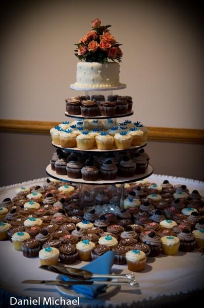 Wedding Cake Cupcakes Photos