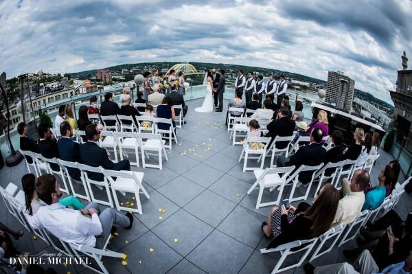 Wedding Ceremony Photography Residence Inn
