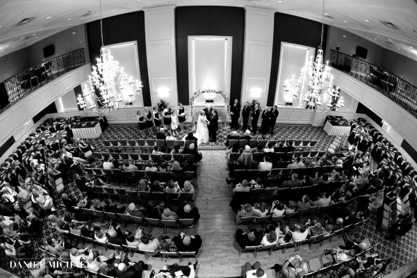 Wedding Ceremony at The Grand in Covington