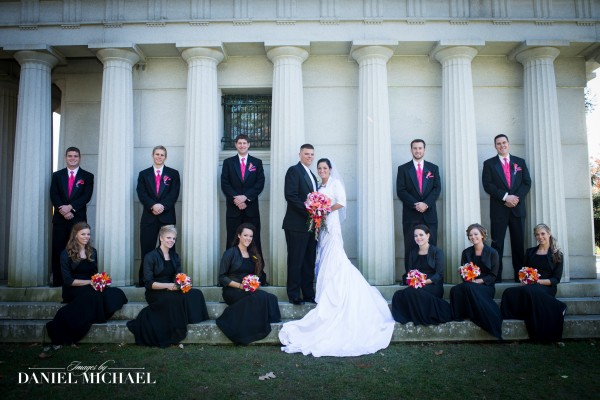 Wedding Party Photography Spring Grove