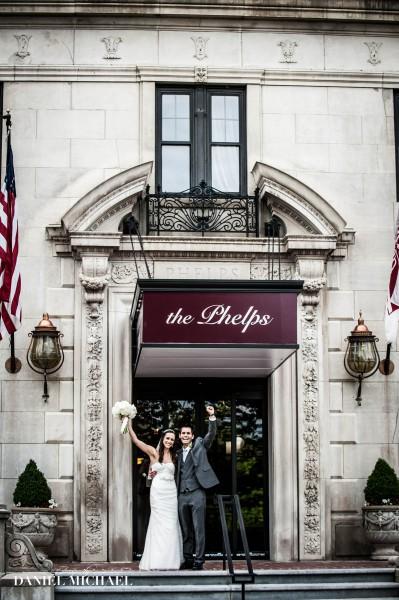 Residence Inn Wedding Photography on Rooftop