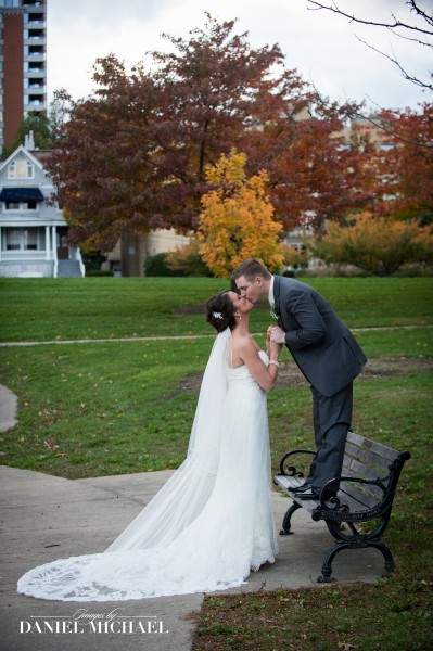 Wedding Photographers at Eden Park Cincinnati