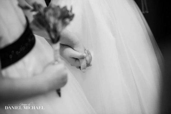Wedding Photography Flower Girls hands