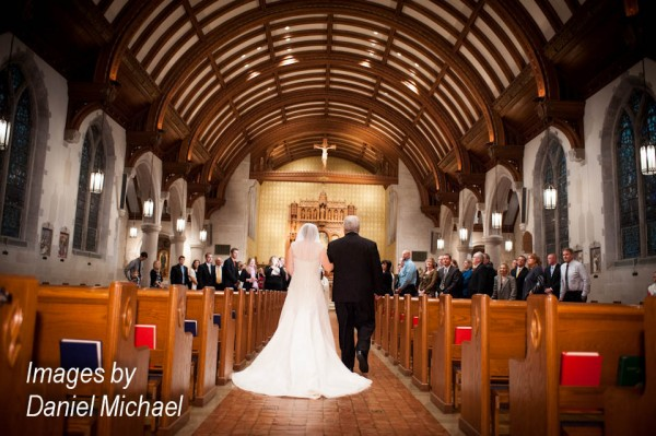 Wedding Photography St. Catherine of Siena