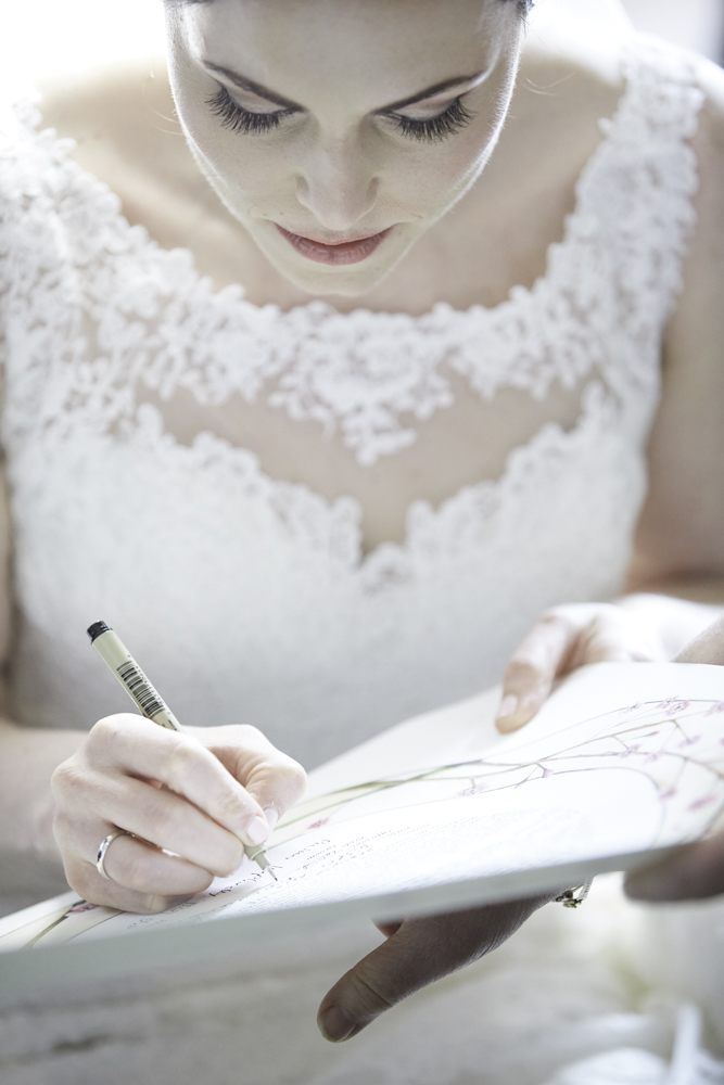 Ketubah Signing Photo