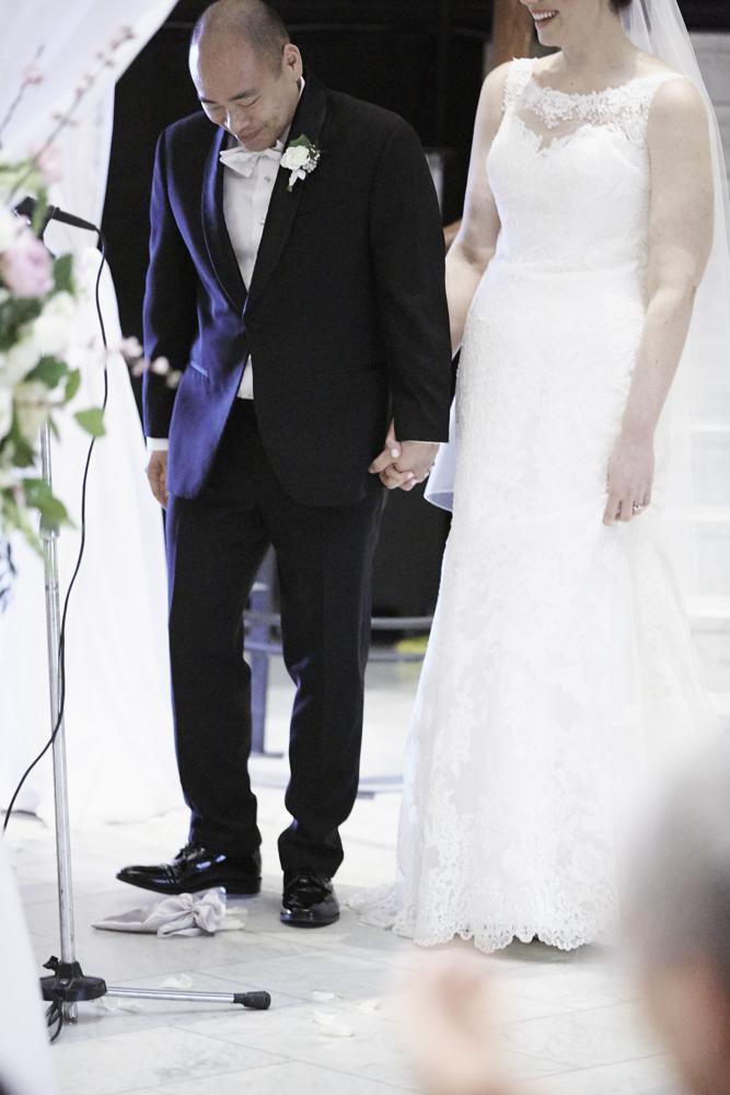 Jewish Wedding Glass Break Photo