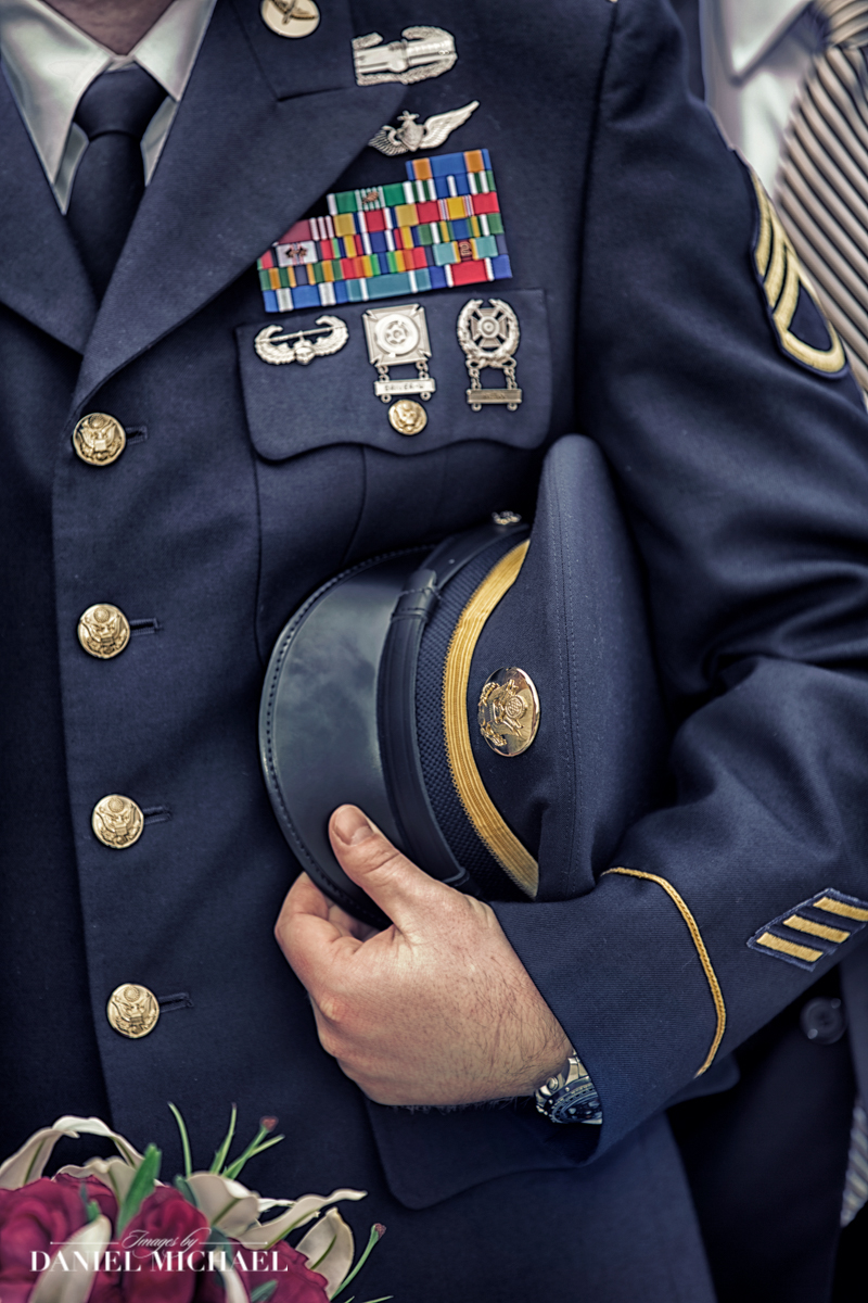 Military Wedding Uniform