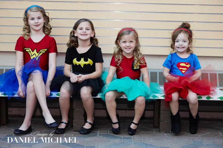Flower Girl Super Heros